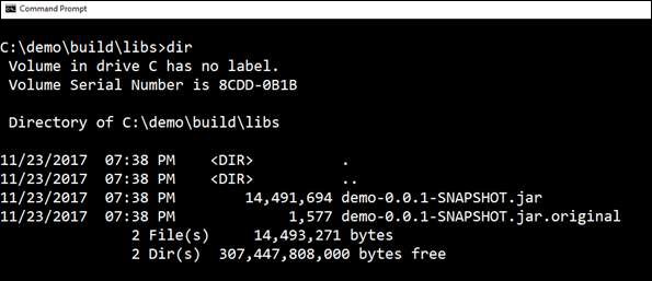 JAR File Under Build Libs Directory