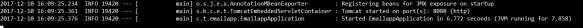 Tomcat Port 8080 Application Output